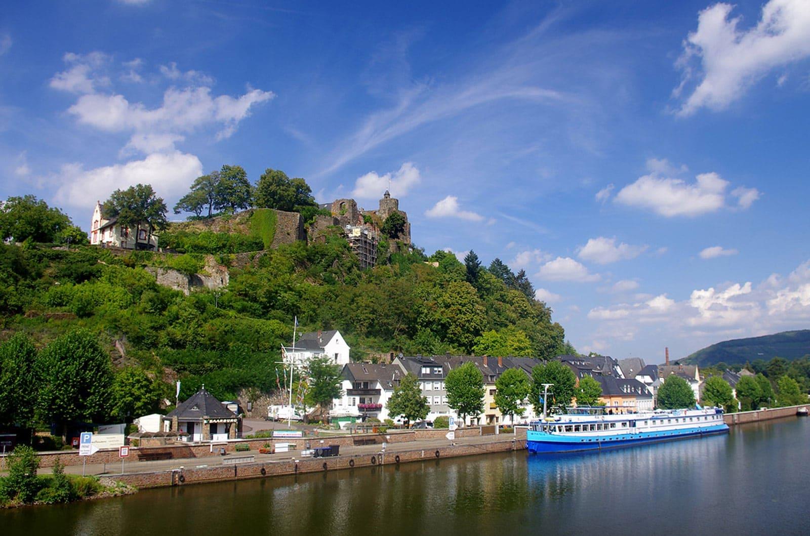 Rad und Schiff Koblenz-Saarburg