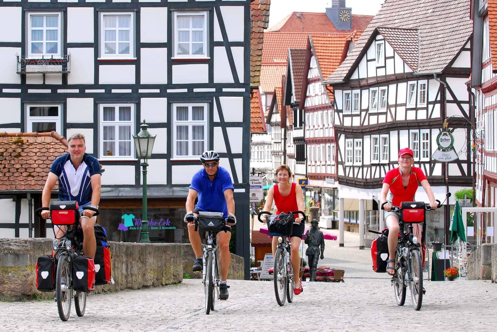 Radreise Werra und Fulda individuelle Rundtour