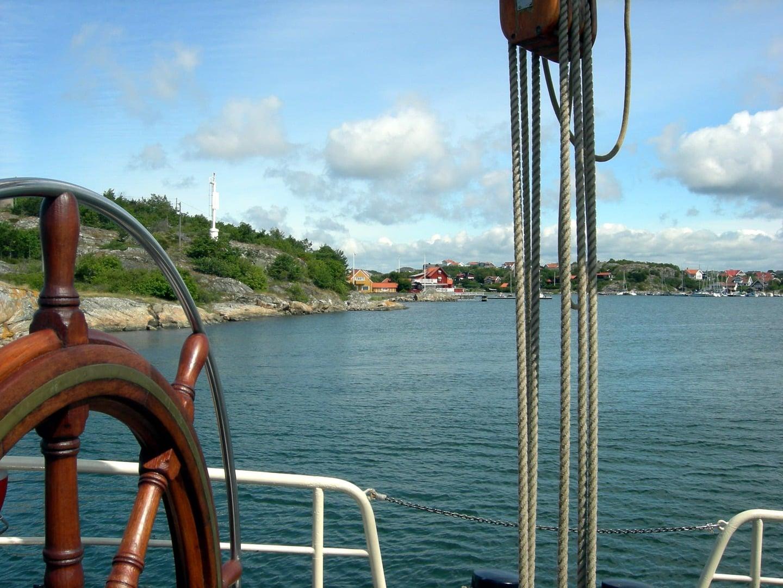 Rad und Schiff Dänemark Öresund Kopenhagen