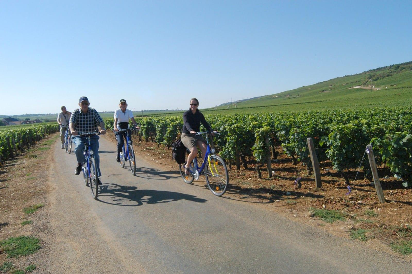 Radreise Burgund Frankreich