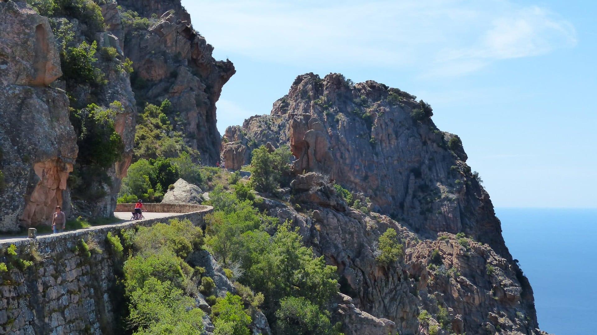 Radreise Korsika geführte Radtour
