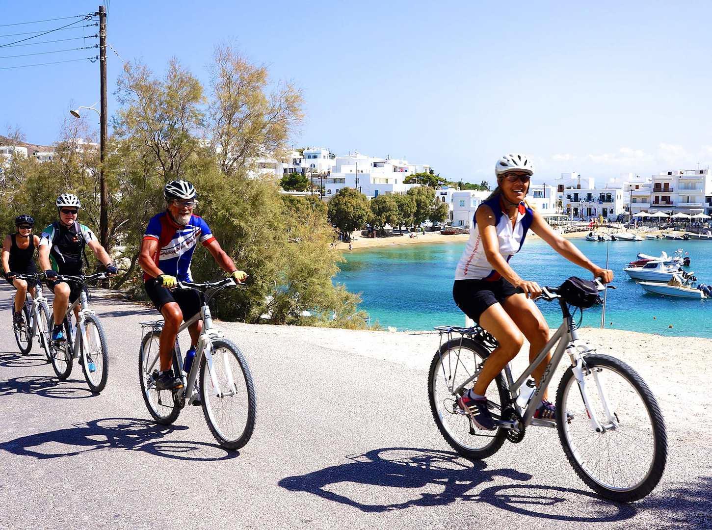 Radreise Griechenland Kykladen Ägäis