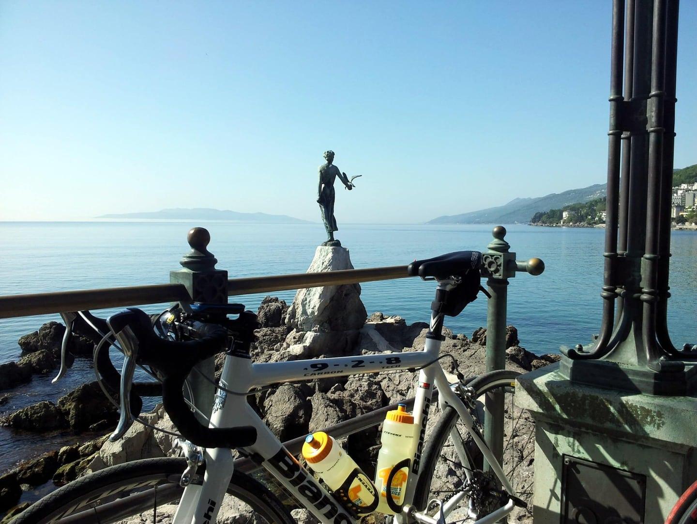 Rennradtour Istrien Kroatien