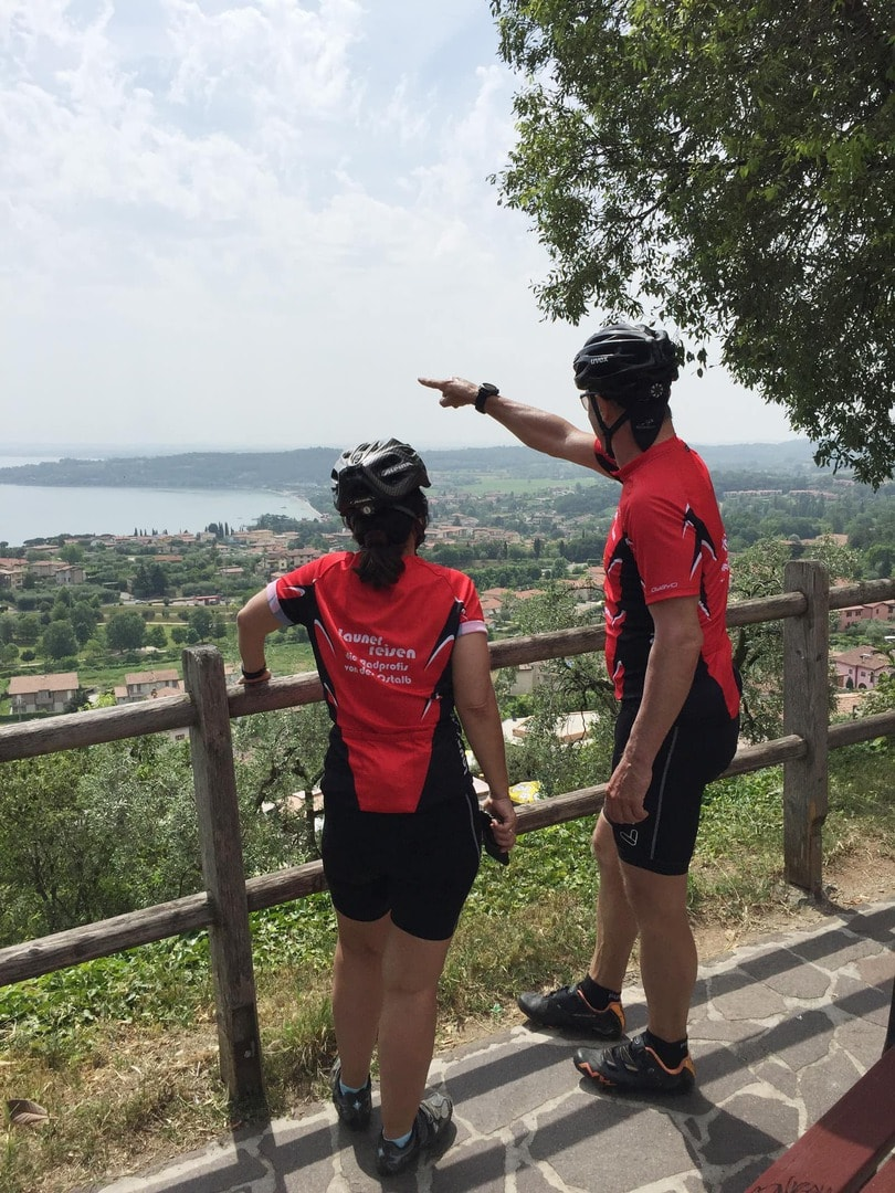 Rennradreise Gardasee Italien