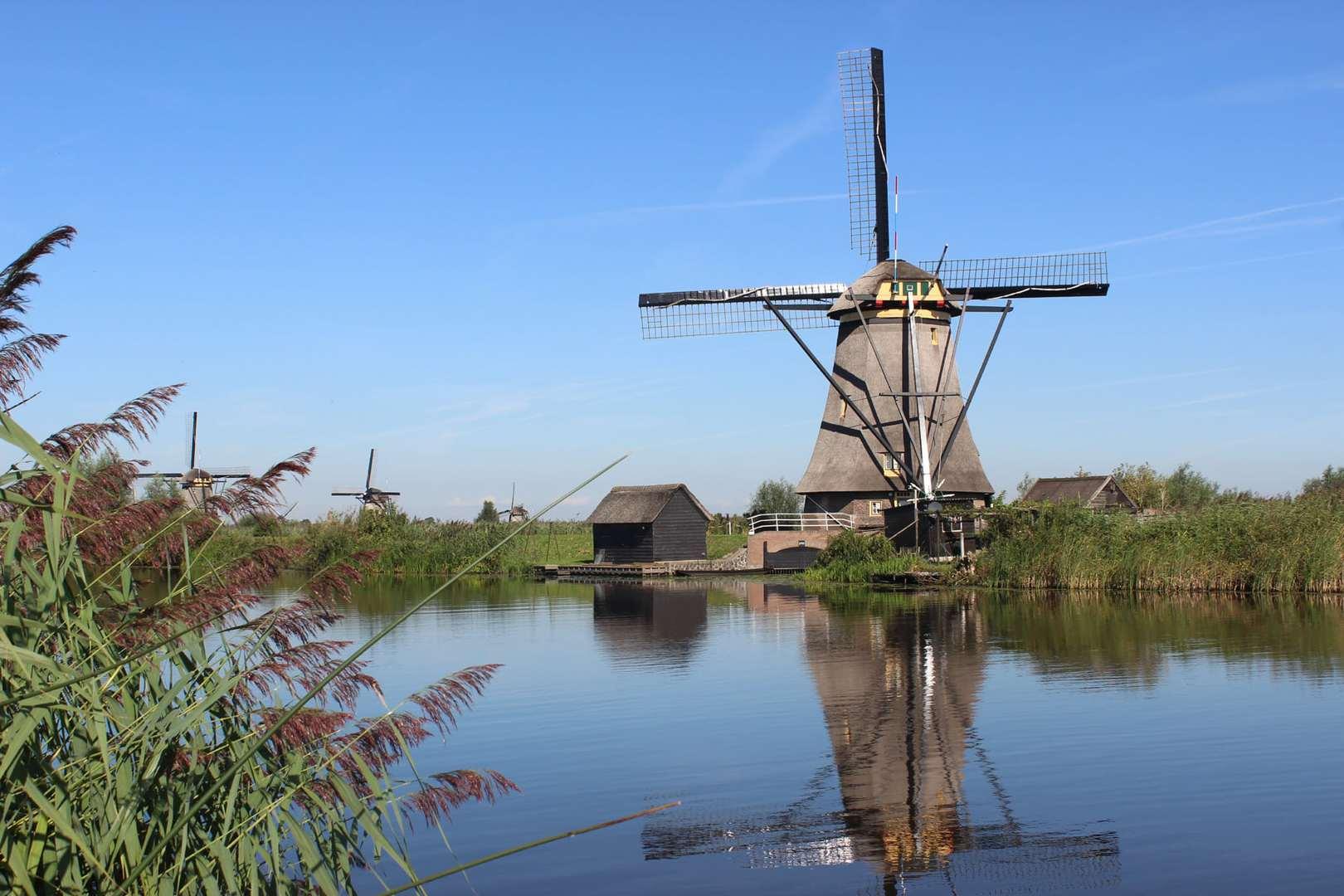 Rad und Schiff Niederlande Holland
