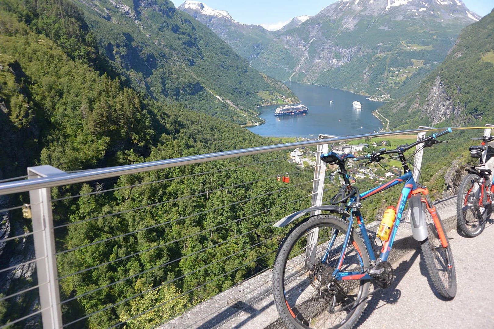Radtour Norwegen Fjorde
