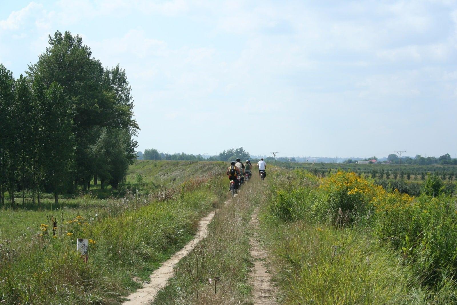 Radreise von Krakau nach Warschau Polen individuell