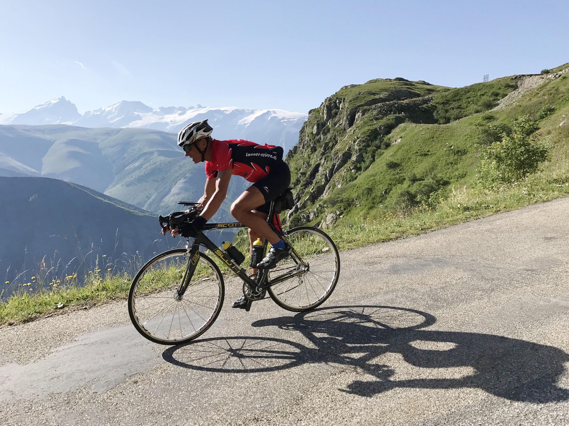 Rennradreise Grandes Alpes Frankreich