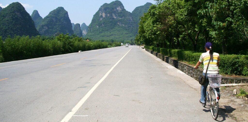 Radreisen China