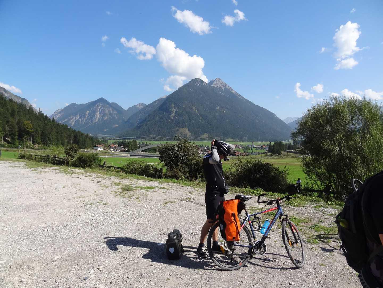 Radreise geführt Alpenüberquerung Claudia Augusta vom Allgäu zum Gardasee