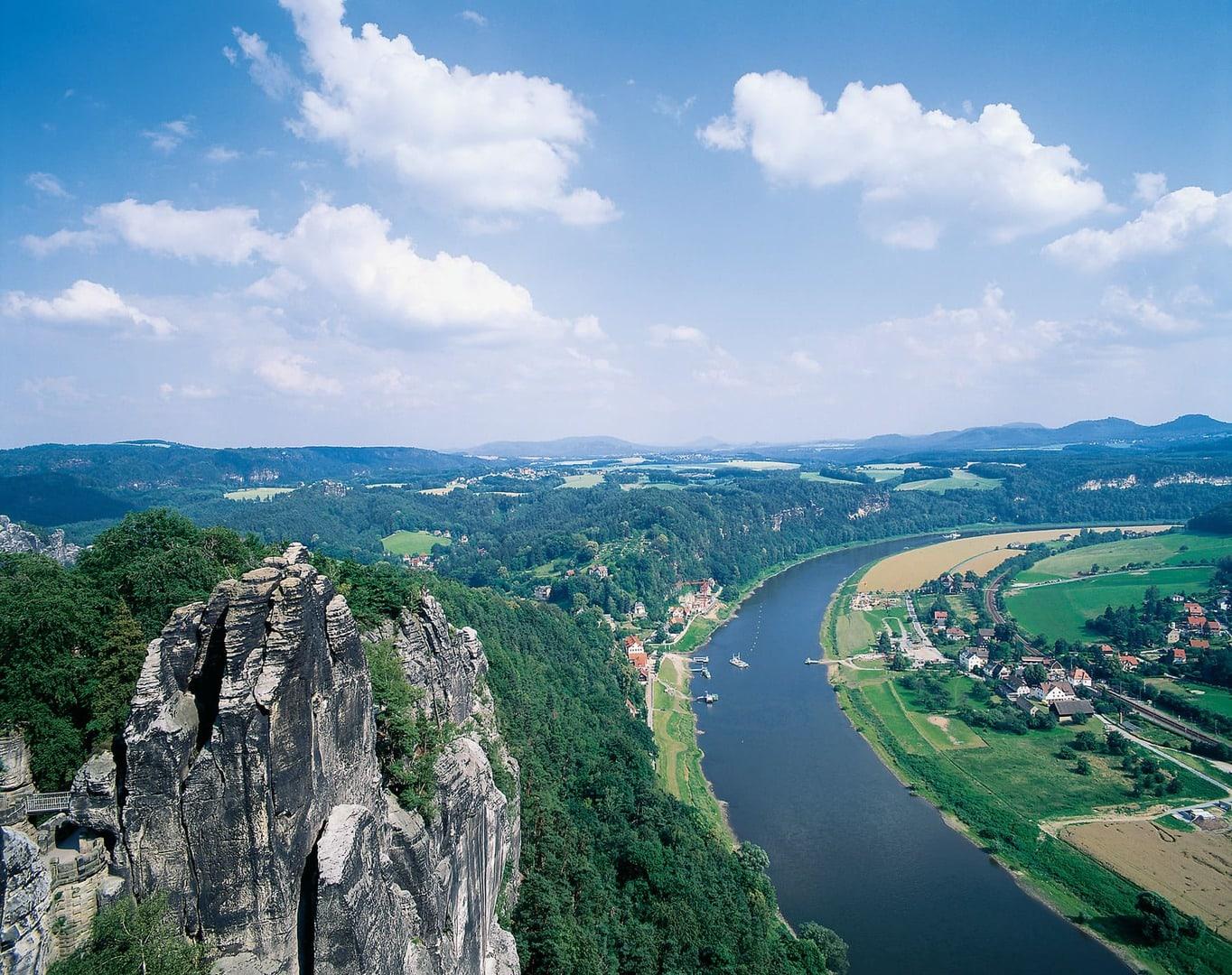 Radreise Elberadweg Dresden nach Dessau