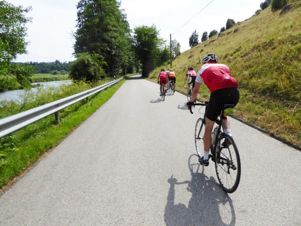 Rennrad Flensburg-Garmisch Deutschland