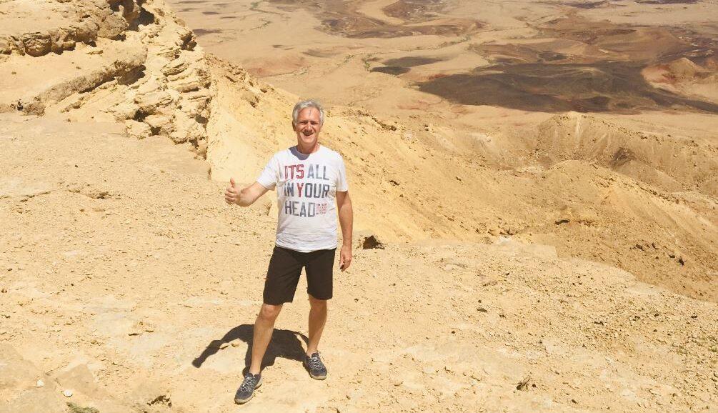 Israel Wanderreise unser Reiseleiter Norbert