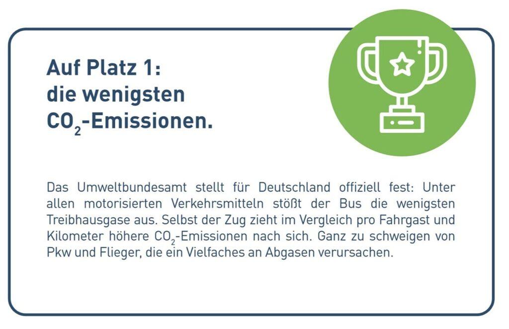 Nachhaltig sicher unser Reisebus Platz 1