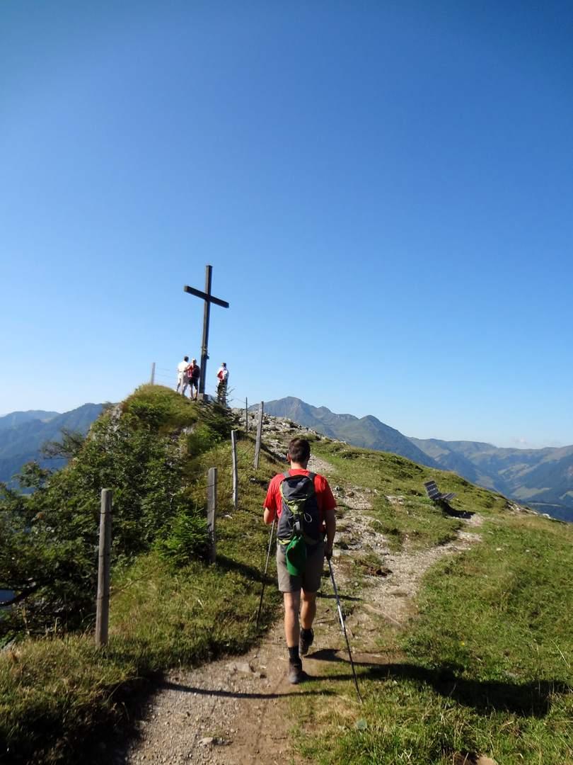 Wandertour Österreich Salzburger Land Kitzbüheler Alpen