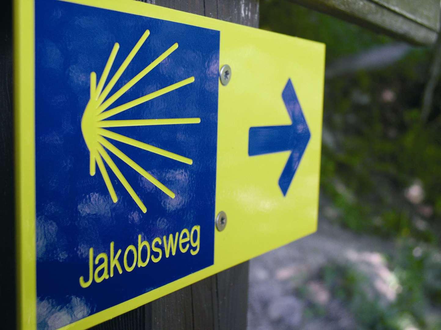 Jakobsweg Salzburg Tirol Pilgerroute wandern