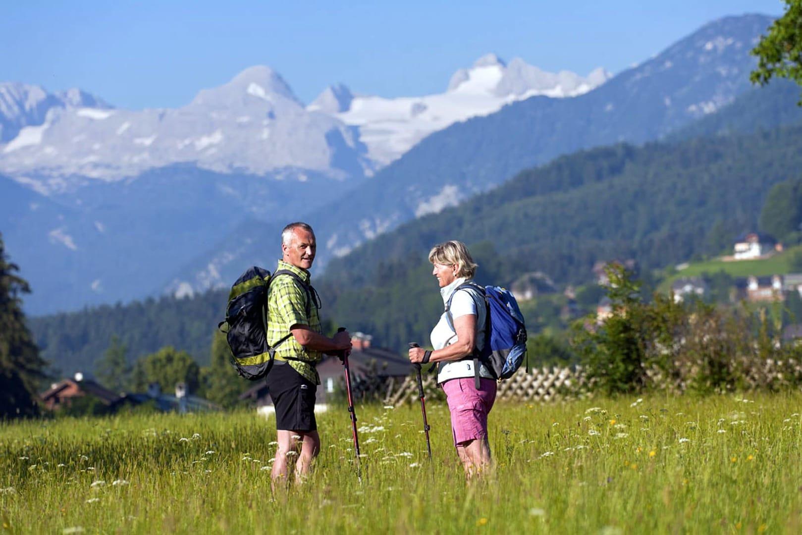 Wanderurlaub Österreich Salzkammergut und Seen