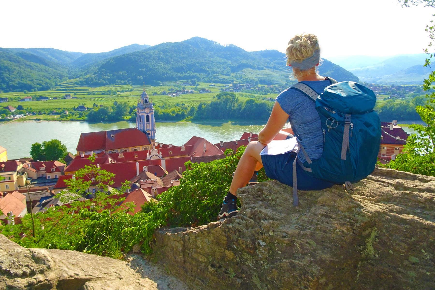 Wandertour individual Wachau Donau Welterbesteig Österreich