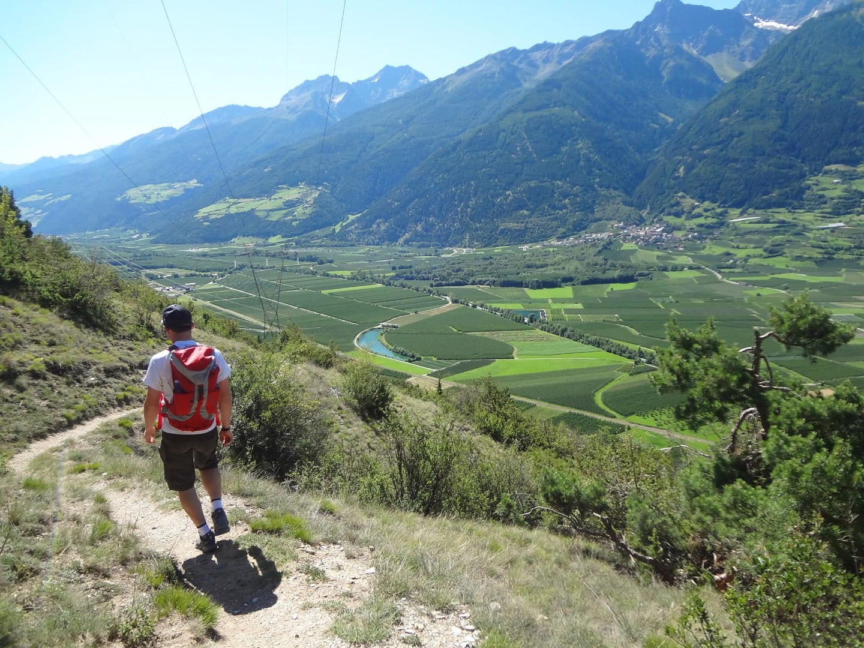 Wandern von Garmisch nach Meran von Bayern nach Südtirol