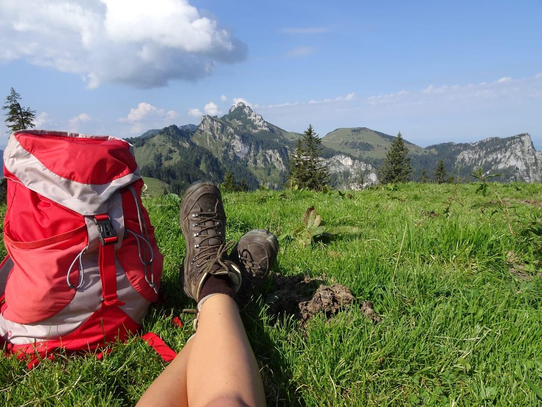 Wanderroute Königsee zum Chiemsee in Deutschland individual