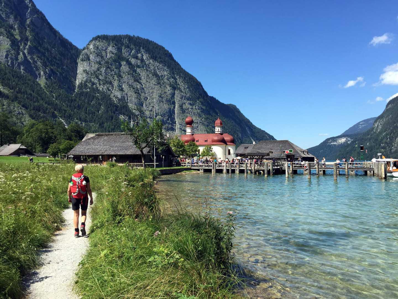 Wandern vom Königsee zum Millstättersee in Bayern und Kärnten