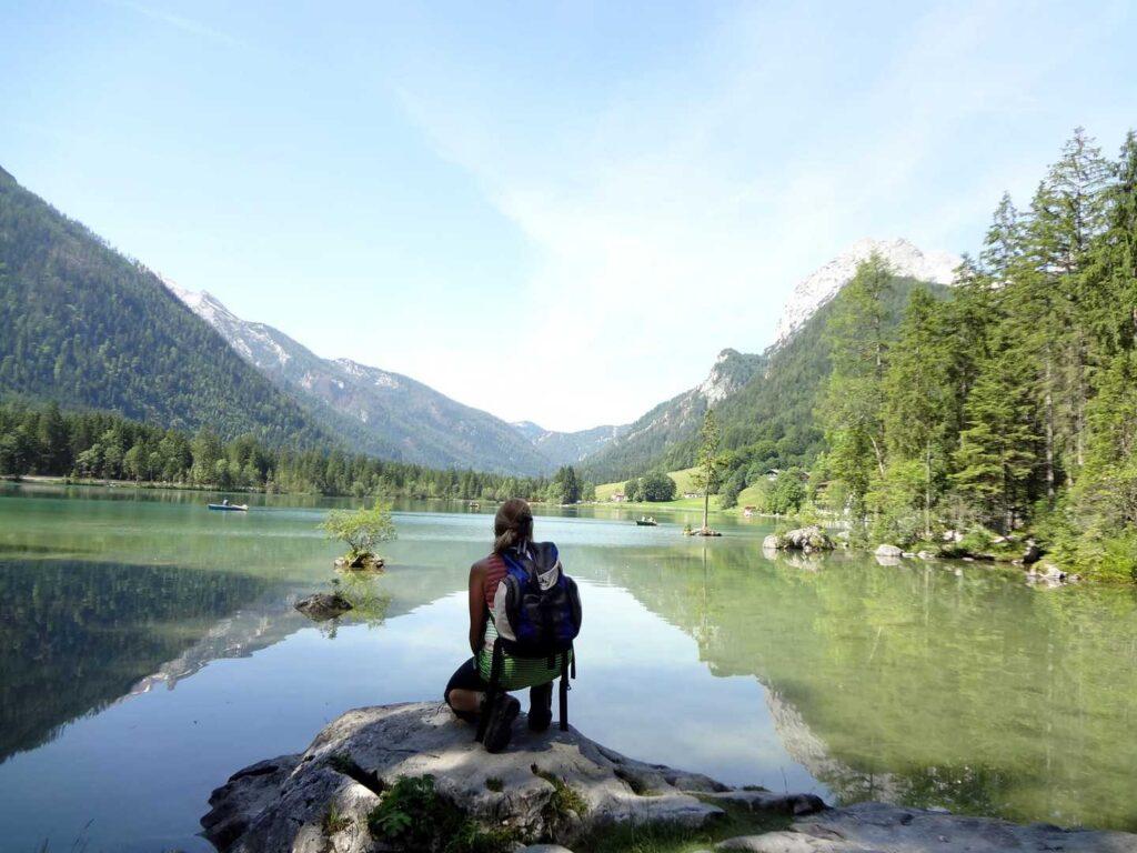 Wanderroute vom Königsee zum Wörther See in Bayern und Kärnten