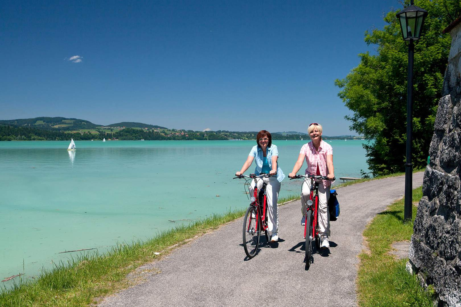 Radtour von München zum Bodensee in Bayern und Allgäu