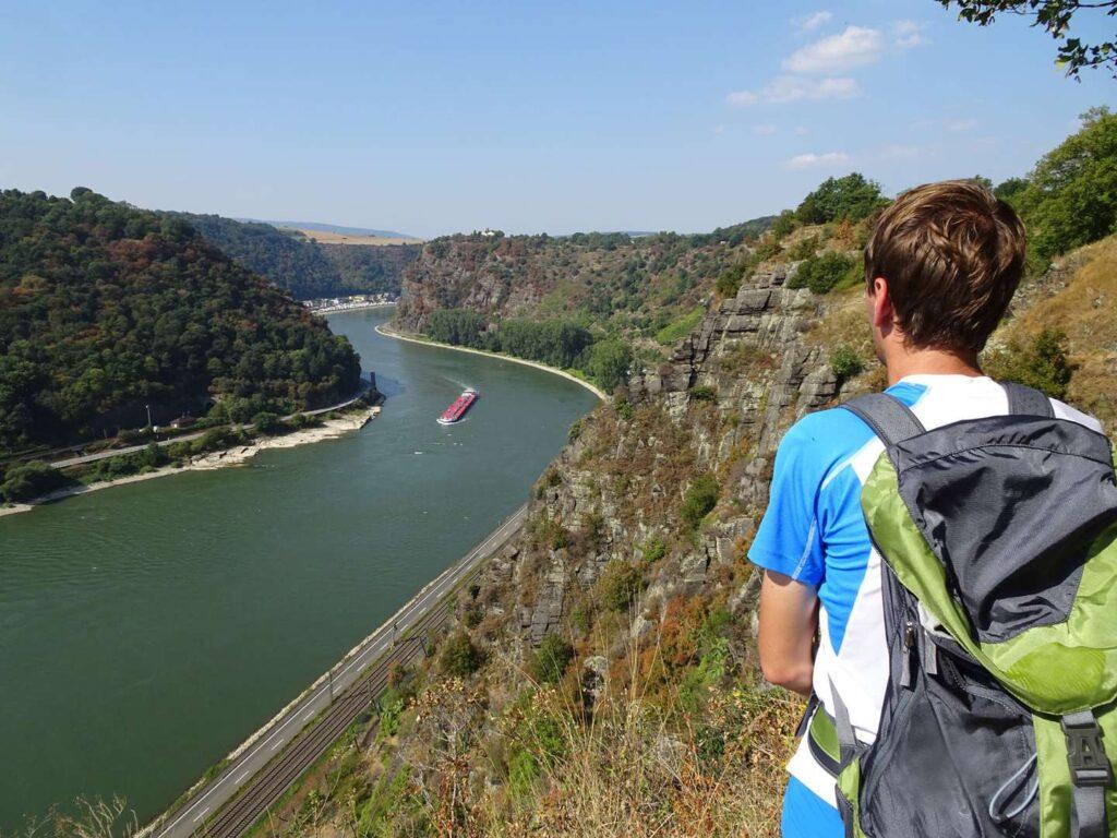 Wanderweg Rheinsteig Deutschland von Rüdesheim nach Koblenz