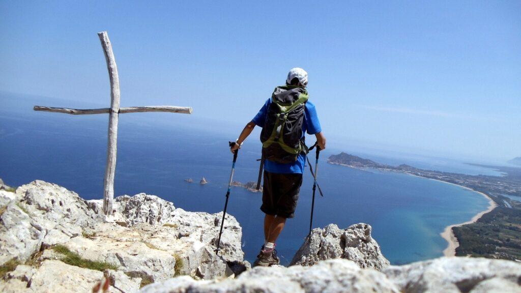 Wandern Sardinien Italien