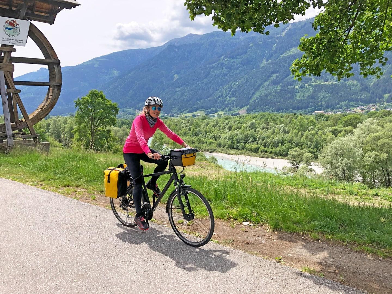 Fahrradfahren Alpe Adria Radweg Salzburg Grado Alpenüberquerung Italien