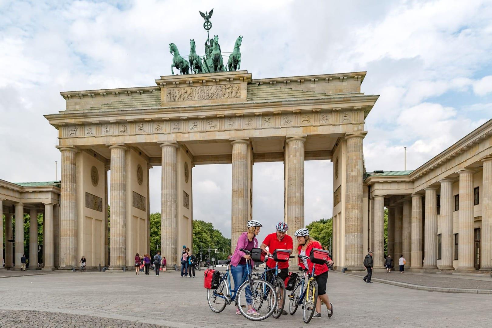 Fahrradtour Berlin Potsdam Wannsee in Deutschland