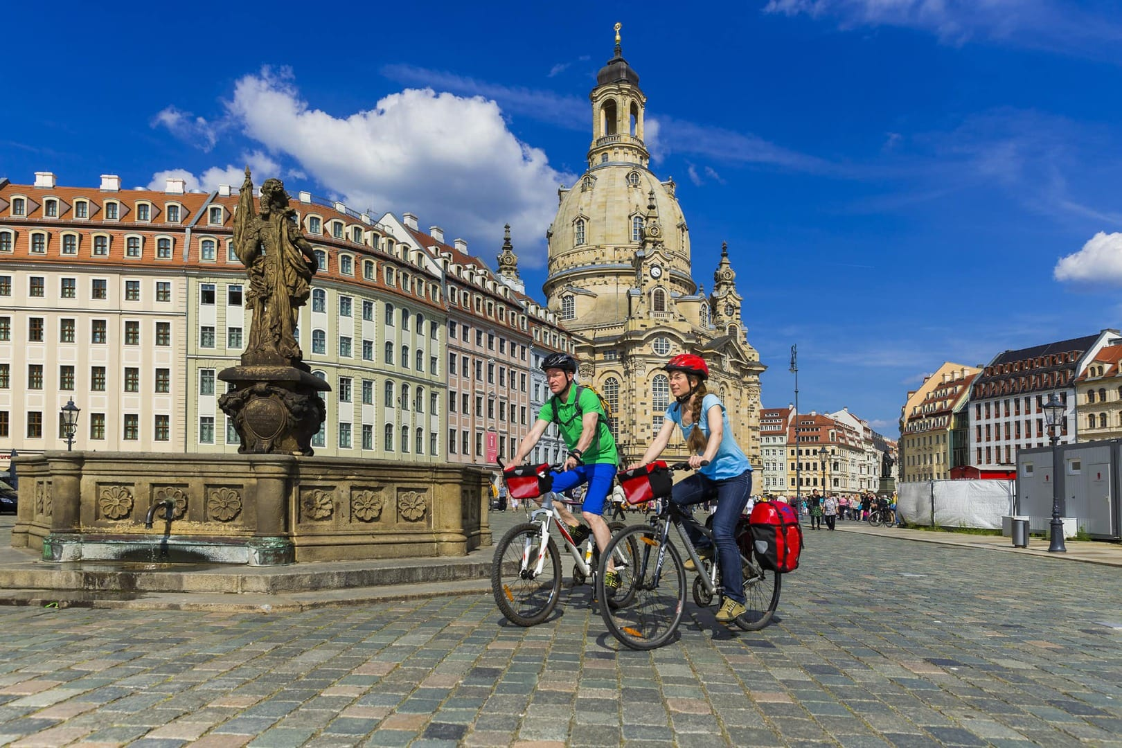 Radfahren Dresden Meißen Moritzburg Schloss Pillnitz