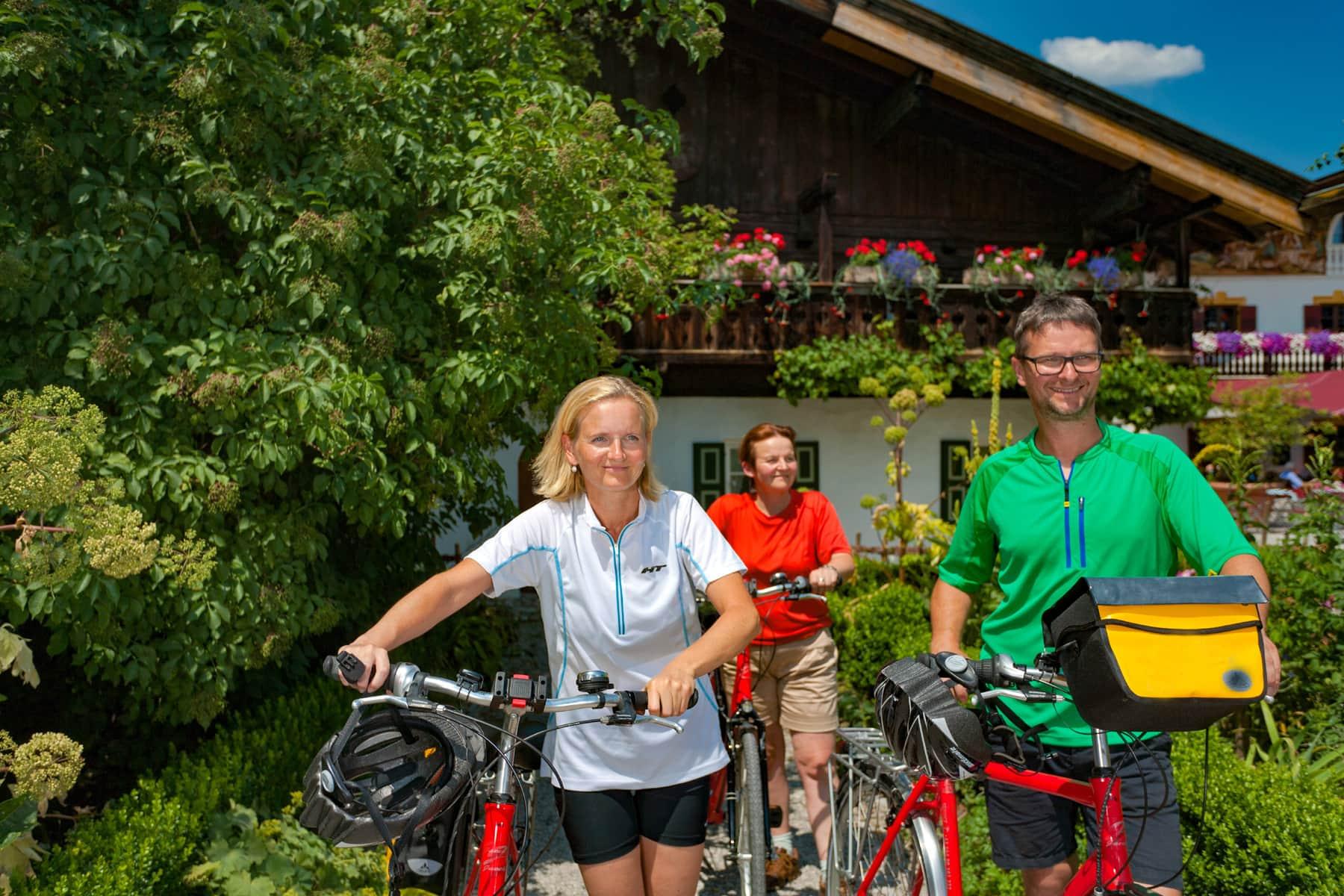 Radtour von München zum Gardasee Alpenüberquerung