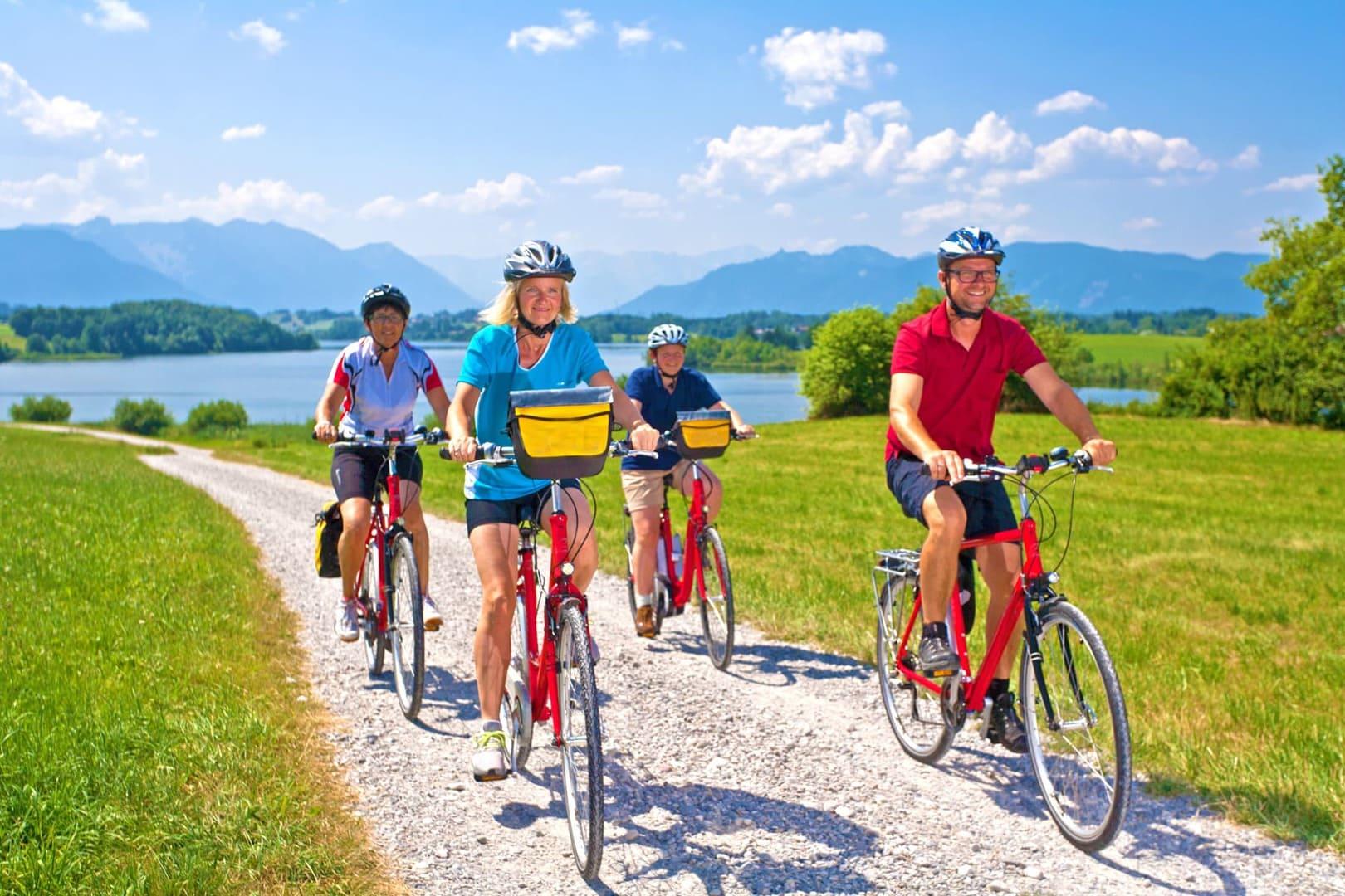 Radtour von München nach Meran Alpenüberquerung