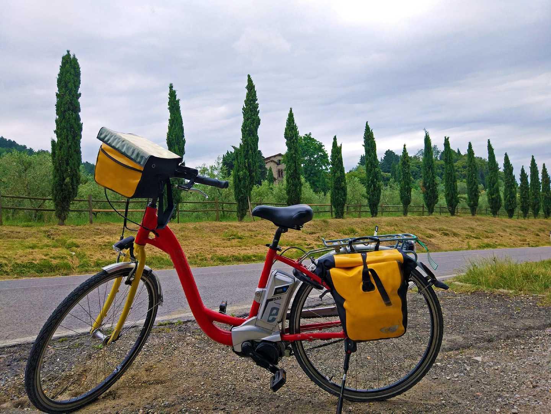 Radurlaub von Florenz nach Rom Italien