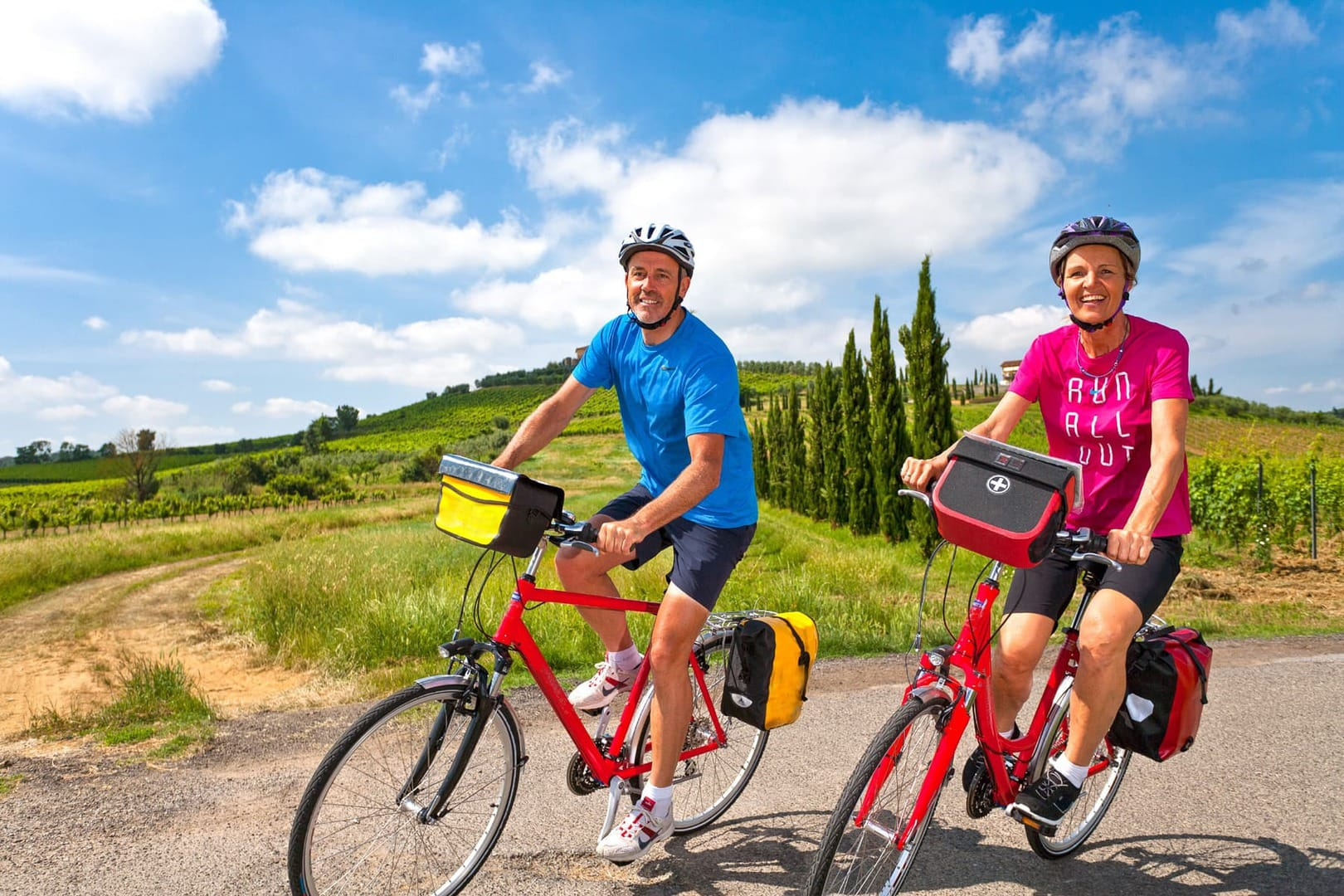 Radreise von Pisa nach Florenz Italien Toskana