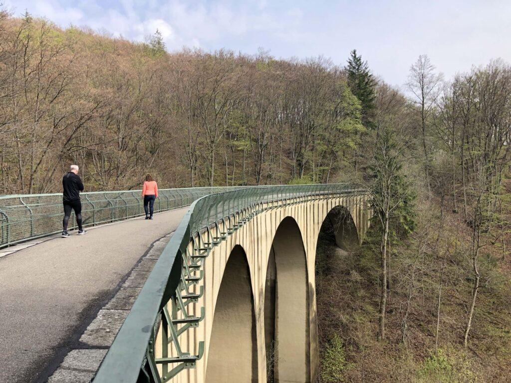 Viadukt auf der Schättere Trasse