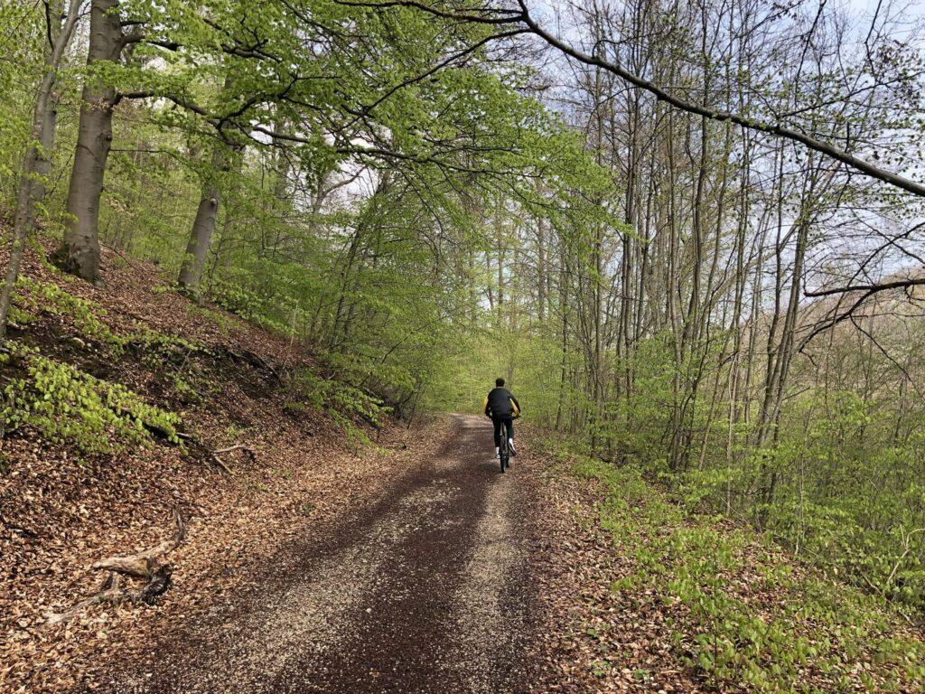 Schättere Bahntrasse Rad- und Wanderweg